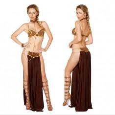Costum Starwars printesa Leia sexy slave Star Wars Leya Egipt Halloween +CADOU!