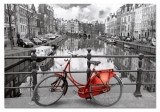Puzzle Educa - The Canal Amsterdam Holland 1000 piese