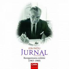 Ion Ratiu. Jurnal Vol. 3 (1963-1968) Reorganizarea Exilului, Ion Ratiu