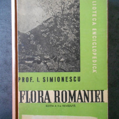 I. SIMIONESCU - FLORA ROMANIE (1947, editie cartonata)