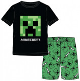 Pijama Minecraft ORIGINAL Creeper Logo 5-6 sau 9-10 ani + Bratara  CADOU !!