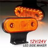 Lampa de gabarit cu contur neon, 12v-24v Lumină galbena