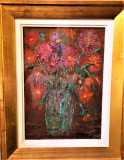 Pictura Tablou Vilena Muscelean ,,Vaza cu flori''
