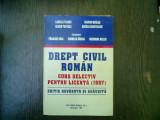 Drept civil roman curs selectiv pentru licenta (1997) - Camelia Toader, Marian Nicolae, Francisck Deak