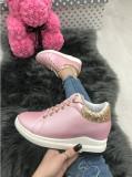 Adidasi dama roz cu platforma marime  38, 39, 40+CADOU