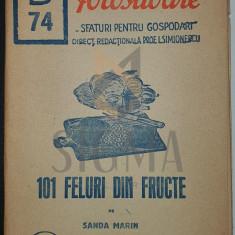 SANDA MARIN - 101 FELURI DIN FRUCTE, 1943