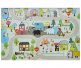 Cumpara ieftin Covor de joaca My Torino Kids Street 120x170 cm - Obsession, Multicolor