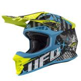 Casca motocross Ufo Intrepid , culoare negru/albastru/galben , marime XL Cod Produs: MX_NEW HE135XL