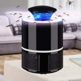 Lampa Anti Tantari cu UV, fara zgomot si fara radiatii, cu alimentare USB - Negru