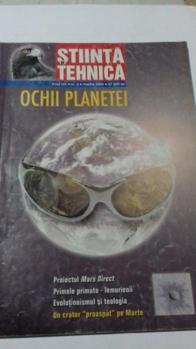 Știință și Tehnică - martie 2002
