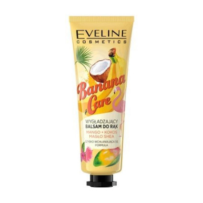 Balsam pentru maini Eveline Cosmetics Banana Care 50 ml foto