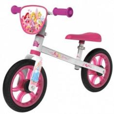 Bicicleta fara pedale Smoby First Bike Disney Princess