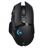 Mouse Gaming Wireless Logitech G502 LightSpeed Hero, 16000 DPI (Negru)