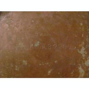 CY - Tas taler vechi alama cantar marcat si D. VOINA d = 19 cm 2 defecte