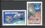 Romania.1969 Cosmonautica-Apollo 9 si 10 HR.126, Nestampilat