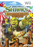 Joc Wii Shrek's Carnival Craze Party games Wii classic, mini si wii U ca nou