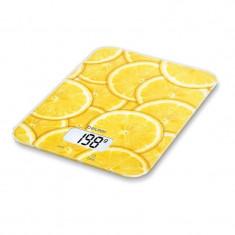 Cantar de bucatarie Beurer KS19 Lemon, 5 kg, taste senzori