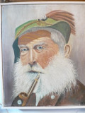 Tablou vechi-Vanator-Scoala olandeza, Portrete, Ulei, Impresionism