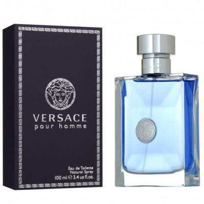 Apa de toaleta Barbati, Versace Pour Homme, 30ml foto