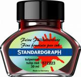 Cerneala Standardgraph rosu lalea 30 ml