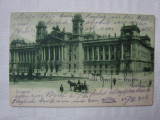 Carte postala circulata la Orsova in anul 1906 - Palatul Justitiei BUDAPESTA, Ungaria, Printata