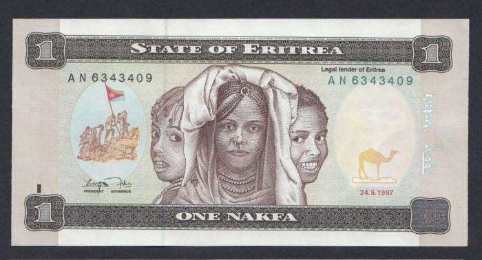 A3035 Eritrea Eritreea 1 nakfa 1997 UNC