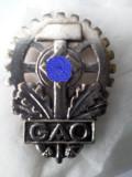 Insigna Asociatiei Victimelor Germane a Muncii, WWar II, Europa