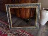 Cumpara ieftin Rama tablou cu dim interior 63x50cm, Lemn, Dreptunghiular