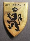 Insigna Militara Regimentala Brigada 14 Mecanizata Franța Drago Paris