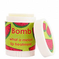 Balsam de buze tratament intensiv What a Melon Bomb Cosmetics, 4.5 g