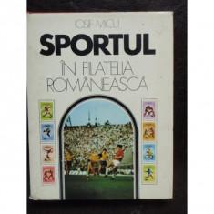 SPORTUL IN FILATELIA ROMANEASCA - IOSIF MICU