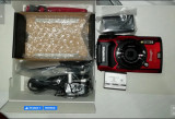 Aparat foto Olympus Tough TG-5, Waterproof, Rosu
