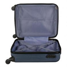 Troler de voiaj, 66x44x24 cm , albastru, 60 litri