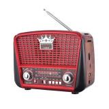 Radio cu acumulator PPO 455, USB, FM/AM, lanterna LED, acumulator integrat, incarcare solara