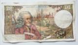 Bancnota Franta 10 franci/ dix francs 1967