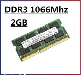 Memorie laptop 2GB DDR3 Sodimm 1066 Mhz PC3 8500