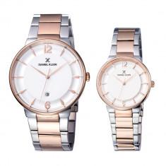 Set ceasuri pentru dama si barbati, Daniel Klein Pair, DK11976-2
