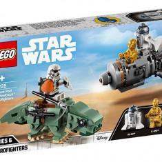 LEGO Star Wars - Capsula de salvare contra Dewback Microfighter 75228