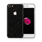 Cumpara ieftin Skin Apple iPhone 7 (set 2 folii) NEGRU GALACTIC