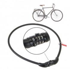 Cablu cu cifru pentru bicicleta