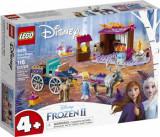 Cumpara ieftin LEGO Disney Frozen II, Aventura Elsei cu trasura 41166