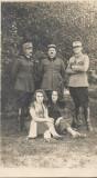 A125 Fotografie ofiteri romani Brasov atelier Adler anii 1920