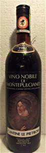 A65 -VIN NOBILE DI MONTEPULCIANO, RISERVA, DOC, recoltare 1982  cl 75 gr 12,5