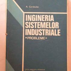 Ingineria Sistemelor Industriale Probleme - A. Carabulea ,269804
