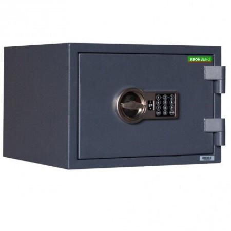 Seif certificat antifoc antiefractie Kronberg FireProfi30 electronic 296x430x365mm EN14450/EN15659/60P