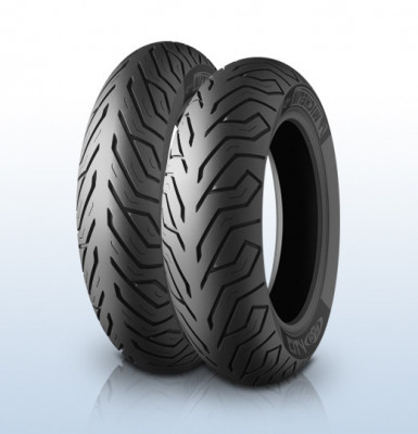 Anvelopa scuter moped MICHELIN 110 70-16 (52S) TL CITY GRIP, Diagonal foto