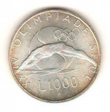 SV * San Marino 1000 LIRE 1988 * ARGINT * J. O. SEUL * INOT AUNC+, Europa