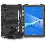 Cumpara ieftin Carcasa 360 grade TECH-PROTECT Solid compatibila cu Lenovo Tab M10 Plus 10.3 inch Black