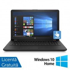 Laptop Nou HP 15-BS289WM, Intel Pentium Silver N5000 1.10GHz, 4GB DDR4, 1TB HDD, 15.6 Inch Touchscreen LED + Windows 10 Home, 4 GB