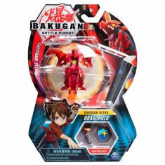 Figurina Bakugan Ultra Battle Planet, 1A Dragonoid Red, 20109016